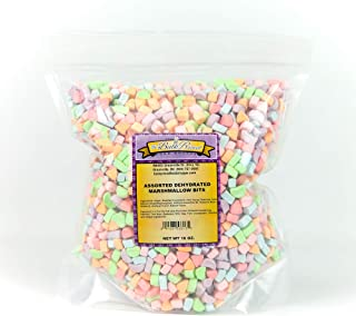 Assorted Dehydrated Marshmallows (1 Pound Bag)