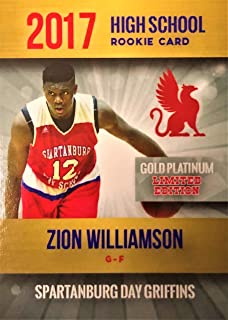 Amazoncom Zion Williamson Rookie Card
