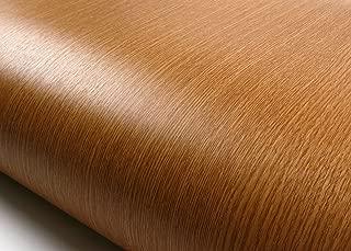 ROSEROSA Peel and Stick Flame Retardation PVC Premium Wood Instant Self-Adhesive Film Countertop Backsplash Natural Oak (PF576(4016-1) : 2.00 Feet X 6.56 Feet)