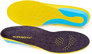 Superfeet FLEXthin, Comfort Insoles for Tighter Athletic Shoe Cushion and Support, Unisex, Bolt