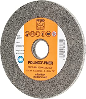 PFERD 4-1//2 POLINOX UNITIZED DISC Soft Type 48470 5//Each