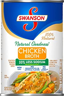 SwansonNatural Goodness Chicken Broth, 14.5 oz. Can