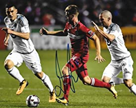 Djordje Mihailovic signed Chicago Fire MLS Soccer 8x10 photo autographed 4 - Autographed Soccer Photos