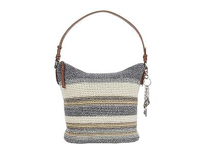 The Sak Sequoia Crochet Hobo (Desert Stripe) Hobo Handbags