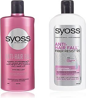 Syoss Ant Hair Fall Shampoo + Conditioner, 500 ml