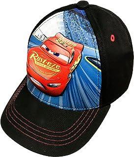 new concept 6b283 f6edf Disney Toddler Boys Cars Lightning McQueen Baseball Cap Age 4-7