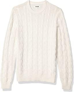 Amazon Brand - Goodthreads Men's Soft Cotton Cable Stitch...