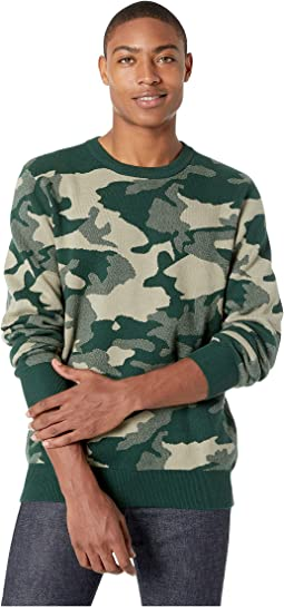 Anwar Camo Knit Sweater