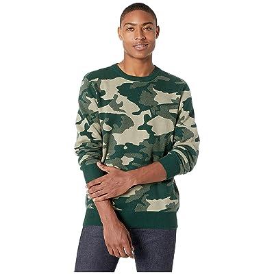 WeSC Anwar Camo Knit Sweater (Peaks Woodland) Men