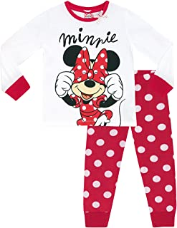 Disney Topolina - Pigiama a Maniche Lunghe per Ragazze - Minnie Mouse