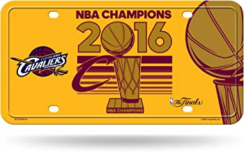 NBA Cleveland Cavaliers 2016 Champions Metal Auto Tag