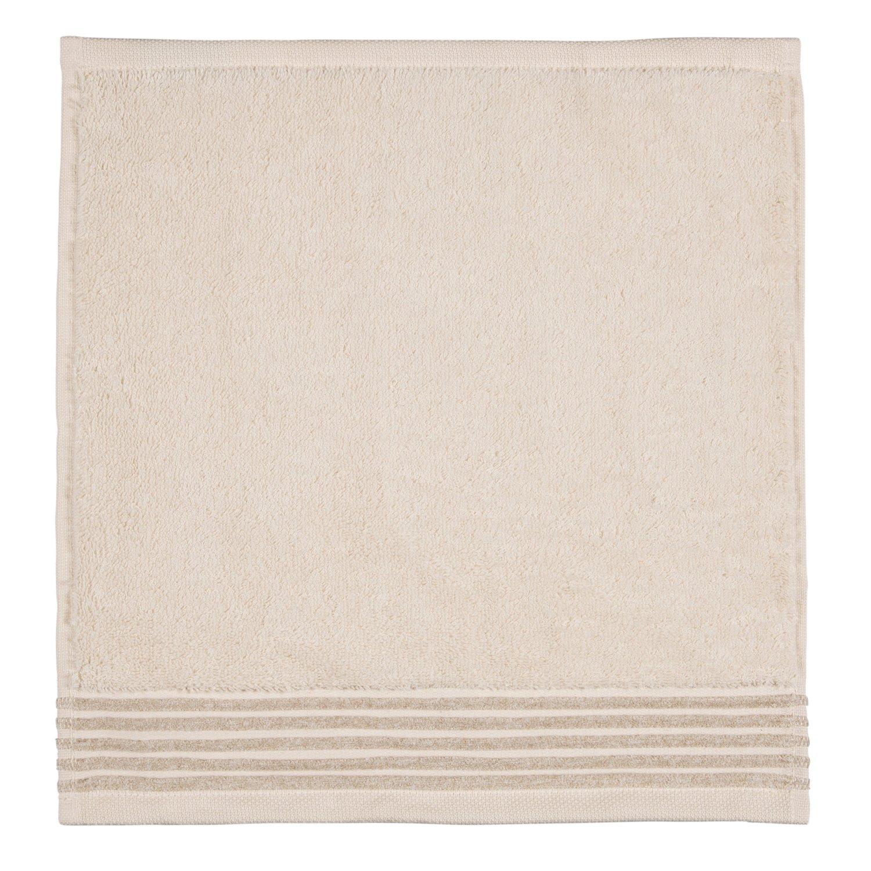 Möve Wellness Uni Face Towel Paño, algodón, Crema, 30 x 30 cm: Amazon.es: Hogar