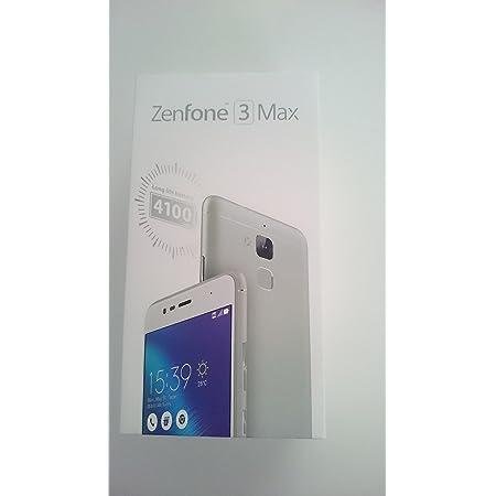 エイスース ZenFone 3 Max シルバー ZC520TL-SL16
