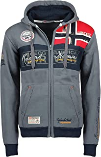 Geographical Norway Flyer Men New Felpa per Uomo