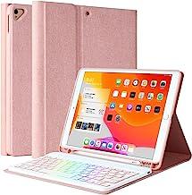 "New iPad 9th Generation Keyboard Case 10.2"" 2021/(8th Gen) 2020/(7th Gen) 2019,7 Colors Backlit Keyboard Case for iPad 10...."