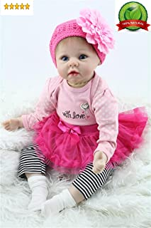 Reborn Baby Doll Girl Realistic Silicone Vinyl 22