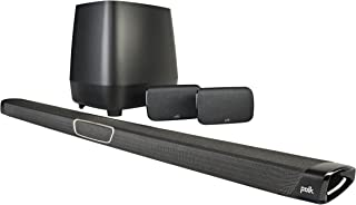 Polk Audio MagniFi Max SR Home Theater Surround Sound Bar | Works with 4K & HD TVs | HDMI, Optical Cables, Wireless Subwoo...