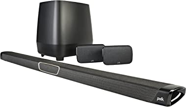 Polk Audio MagniFi Max SR Home Theater Surround Sound Bar | Works with 4K & HD TVs |..