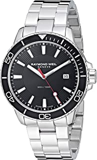 Men's Tango 300 Quartz Watch with Stainless-Steel Strap, Silver, 19.6 (Model: 8260-ST1-20001)