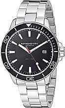 Raymond Weil Men's Tango 300 Quartz Watch with Stainless-Steel Strap, Silver, 19.6 (Model: 8260-ST1-20001)