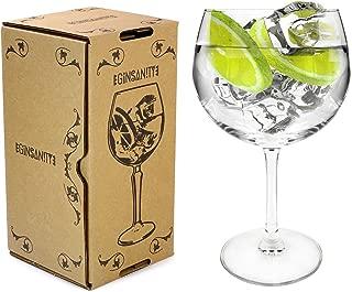 Arcoroc Juniper Thin Stemmed 'Copa de Balon' Gin Glass - 670ml Gin & Tonic/Wine Balloon Glass/Cocktail
