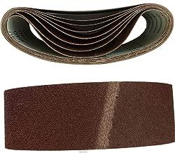 Lot de 10/woltersberger de tissus Bandes abrasives Grain P-60/ Taille 75/x 457/mm