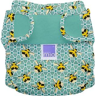 Bambino Mio, miosoft cobertor de pañal, abejas, talla 1 (<9 kg)