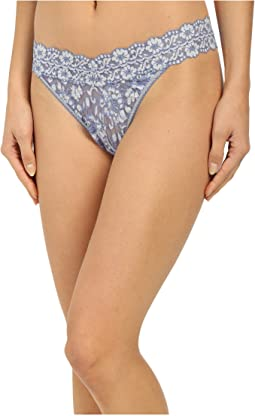 Hanky Panky Cross-Dyed Signature Lace Original Rise Thong