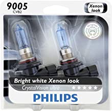 Philips 9005 CrystalVision Ultra Upgrade HeadLight Bulb, 2-Pack (9005CVB2)