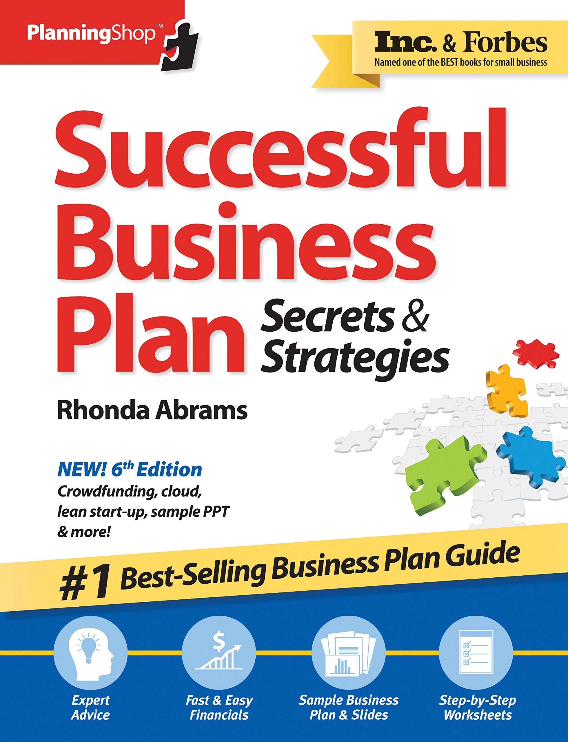 Image OfSuccessful Business Plan: Secrets & Strategies, America's Best-Selling Business Plan Guide!