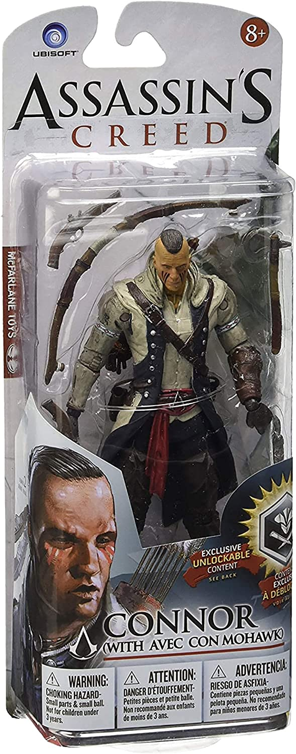 YXCC McFarlane Assassins Creed 4 Black Flag Edward Kenway Connor 6-inch action figure figure