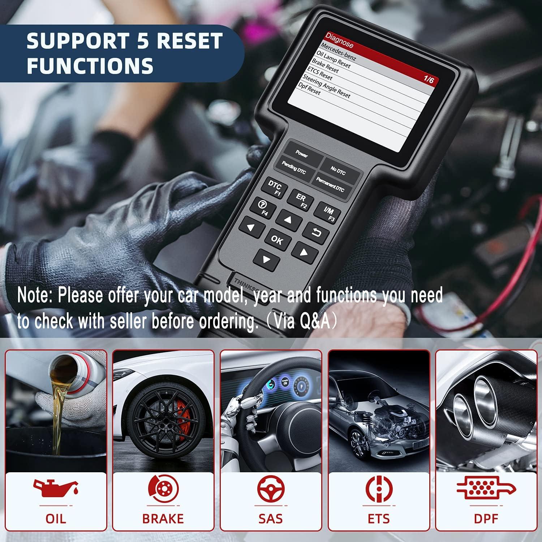 Buy ThinkScan Mercedes OBD20 Scanner All System Diagnostic Tool ...