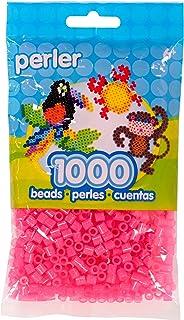 Perler 1000 Beads: Pink Glitter, 80-15191