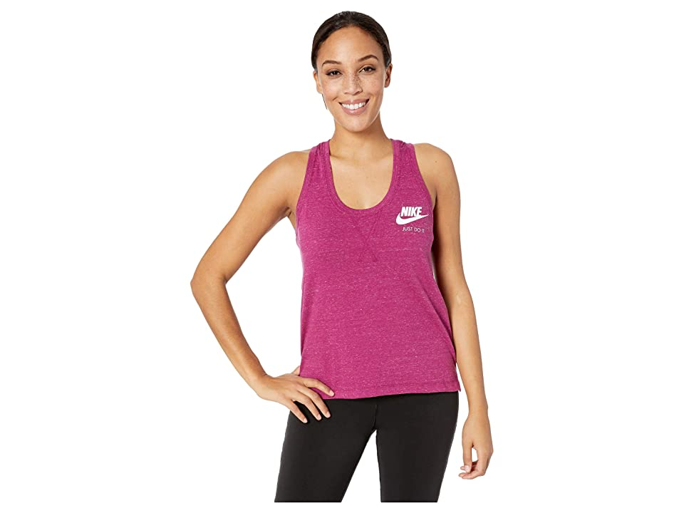 Nike Sportswear Gym Vintage Tank (True Berry/Sail) Women