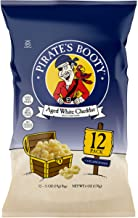 Pirate's Booty Aged White Cheddar Pirate's Booty Puffs ,0.5 oz (Pack of 12)