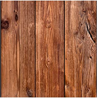 murando Tapete selbstklebend 10m Wandtattoo dekorative Möbelfolie Dekorfolie Fotofolie Panel Wandaufkleber Wandposter Wandsticker - Holz 1602-13