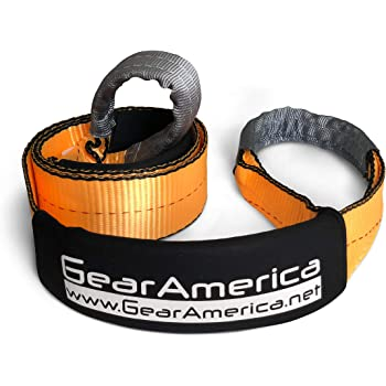 """GearAmerica Tree Saver Winch Strap 3"""" x8' 