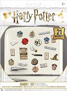 Pyramid International MS65083 Set de 21 aimants décoratifs - Harry Potter (Sorcellerie), Multicolore, 18 x 24 x 0, 3 cm