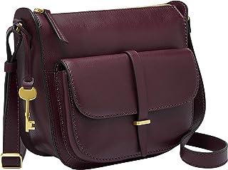 Fossil Ryder Leather 26.03 cms Purple Gym Shoulder Bag (ZB7411503)