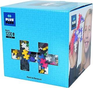 Plus-Plus - Construction Building Toy, Open Play Set - 1200 Piece - Basic Color Mix