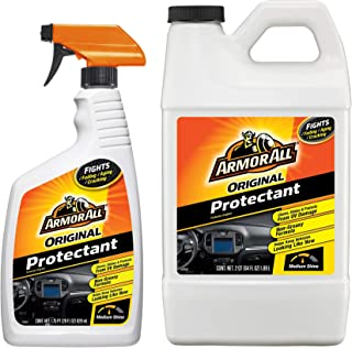 Armor All Interior Car Cleaner Protectant, Cleaning Refill for Cars, Truck, Motorcycle, Bottles, 28 & 64 Fl Oz, 18702