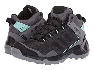 adidas Outdoor Terrex Entry Hiker Mid GTX (Grey Four/Black/Clear Mint) Women