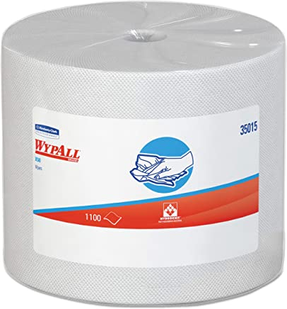 Wypall X50 Disposable Cloths (35015), Strong for Extended Use, Jumbo Roll,