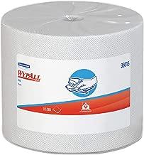 WypAll 35015 X50 Cloths, Jumbo Roll, 9 4/5 x 13 2/5, White, 1100/Roll