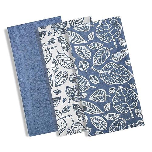 Blue Tea Towel Amazon Co Uk
