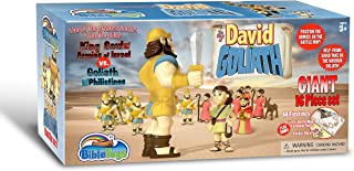 David & Goliath 16 Piece Battle Set by BibleToys- Christian Faith Based Toys
