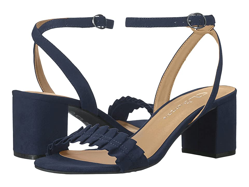 CL By Laundry Jamz (Navy Suede) High Heels