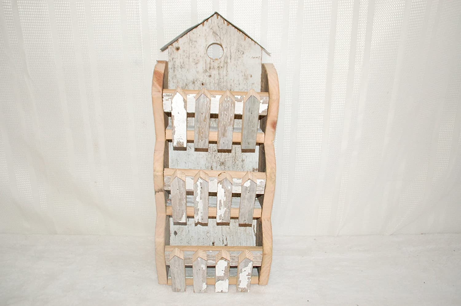 Kenzie's Kreations. Max 80% OFF Barnwood Mail letter Measures Holder. 3 : 8 Selling and selling