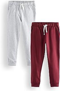 Marca Amazon - RED WAGON Pantalones Niños, Pack de 2