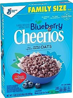 Blueberry Cheerios Cereal, Gluten Free, 19.5 oz